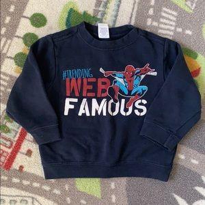 Boys 3T Spider-Man Sweatshirt